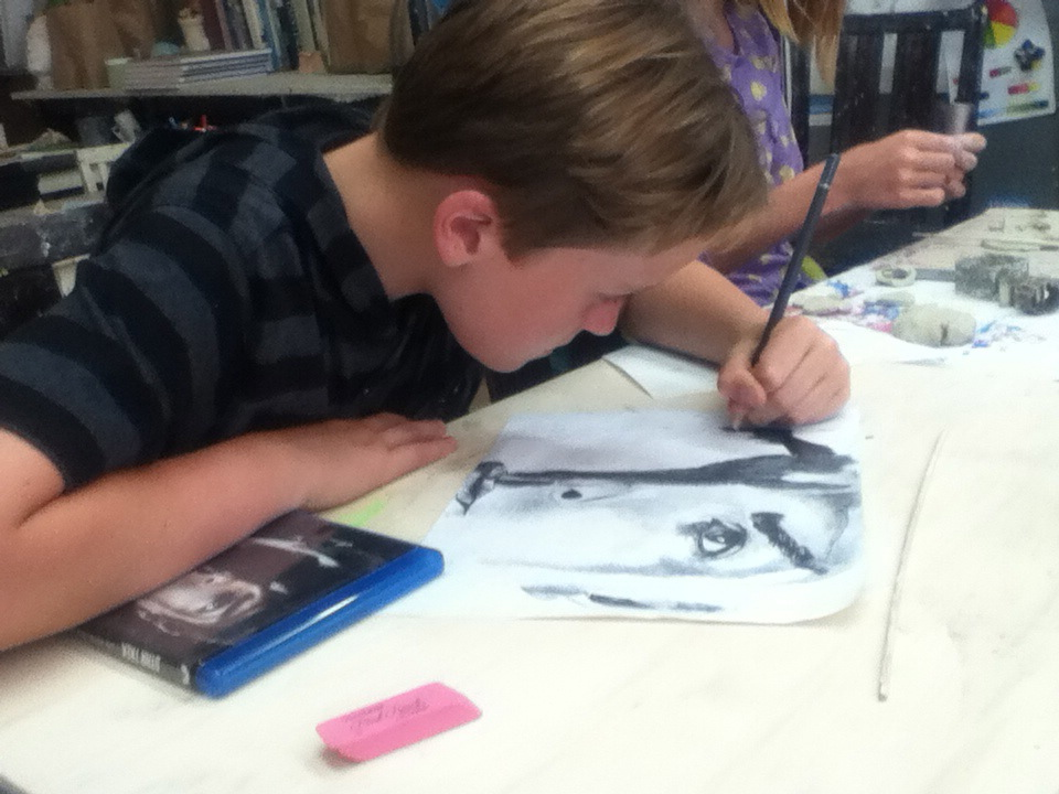 Drawing + Illustration Class - Tuesday 3:45-4:45 begin September 3