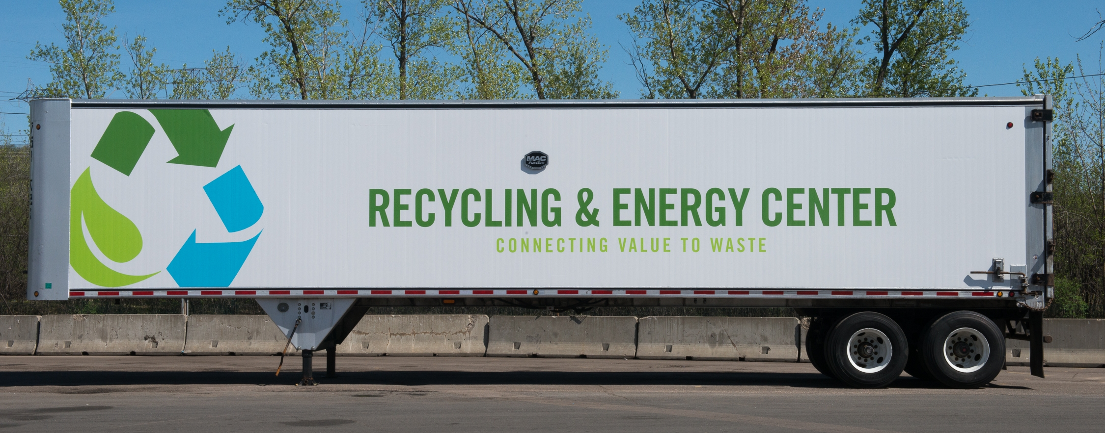 Recycling & Energy Center trailer