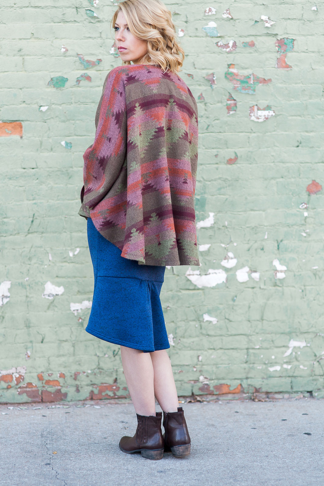 Catori Cape & Blair Skirt