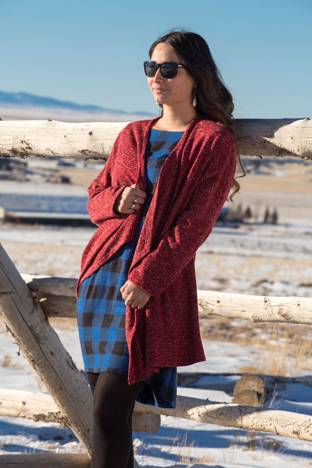 Belle Starr Sweater, Aliza Dress
