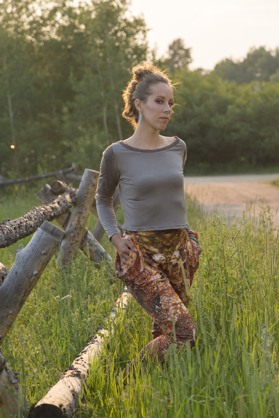 Grand Teton Top, Black Sand Basin Pants