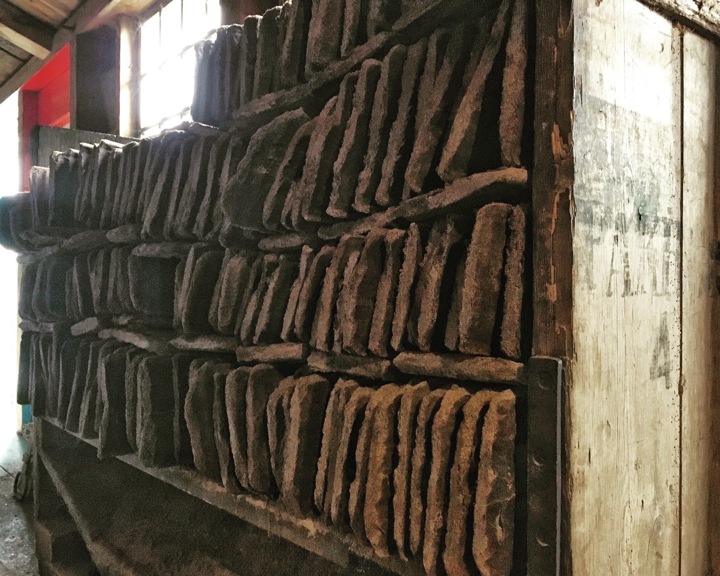 Restproduct ('cacaokoek')