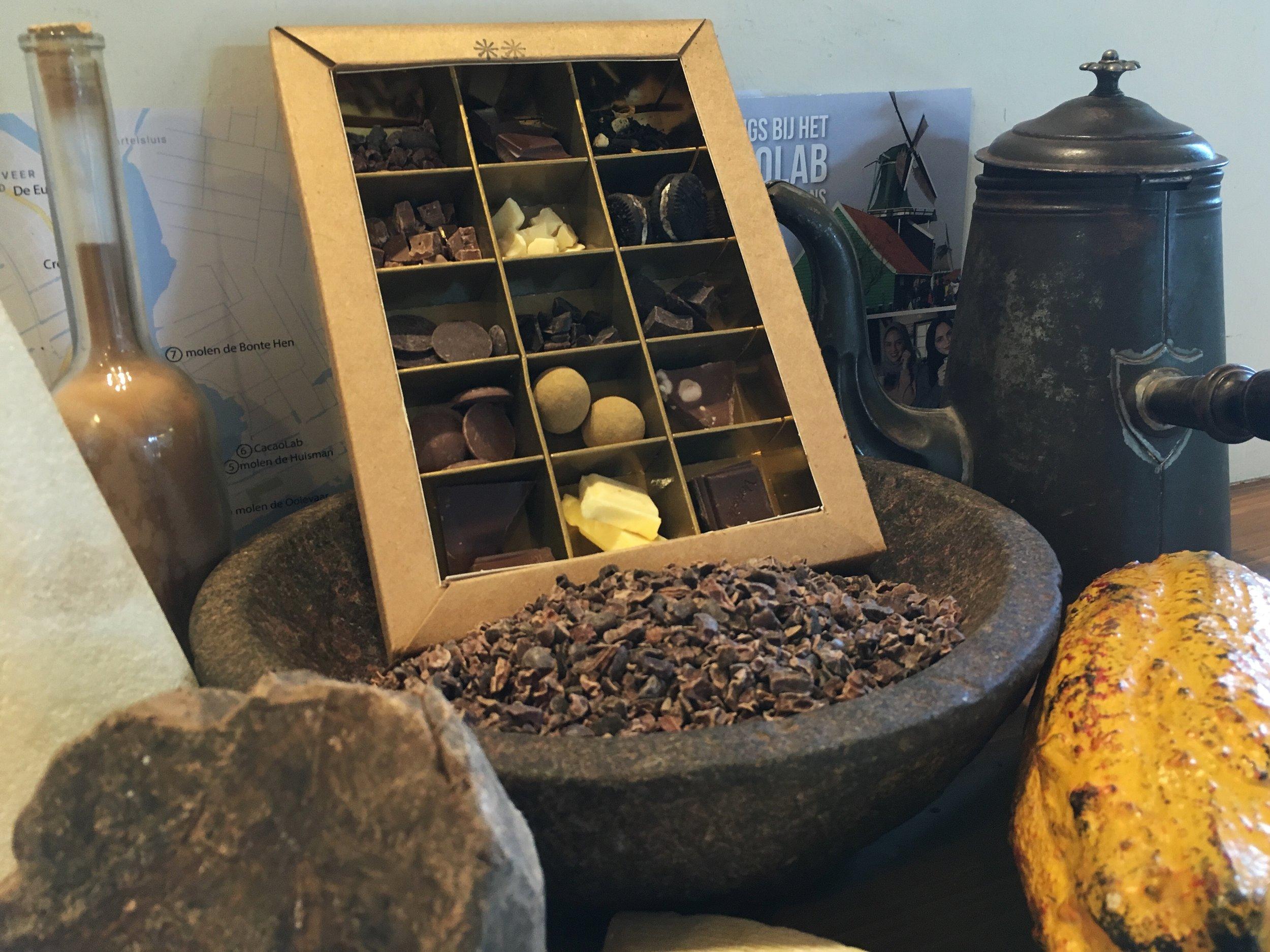 Chocolate River Tour ingrediënten