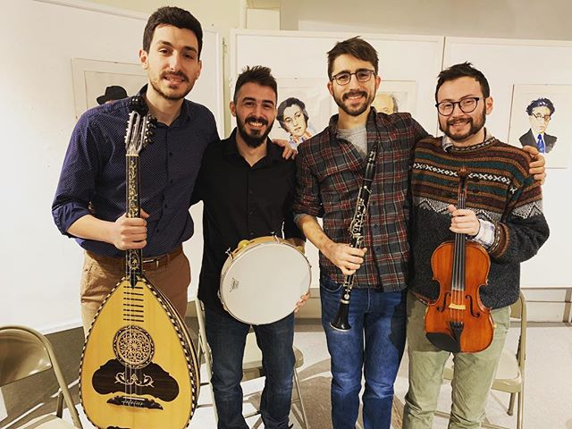 It has been a pleasure coaching the first Epirus Ensemble in Boston for the last year and working with these exceptional and dedicated musicians on old traditional songs from Epirus, Greece! I am extremely proud of each one of them and very happy to announce that the ensemble will participate in an upcoming concert with the master of the laouto Christos Zotos on April 6 in Boston! More info about this event and video of the ensemble are coming soon!  picture: Christo Tsiaras