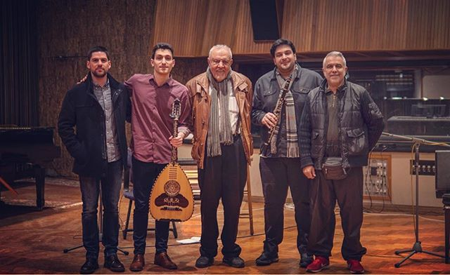 Finishing the second day of recording with Petroloukas Halkias at Sierra Studios in Athens for the upcoming duo album!  Grateful for the amazing team and exceptional musicians/guest artists who gave so much to the music today:  Andreas Papas, percussion Petros Halkias, clarinet Thanasis Vollas, laouto  More updates regarding the exact date of the release of the album coming soon!