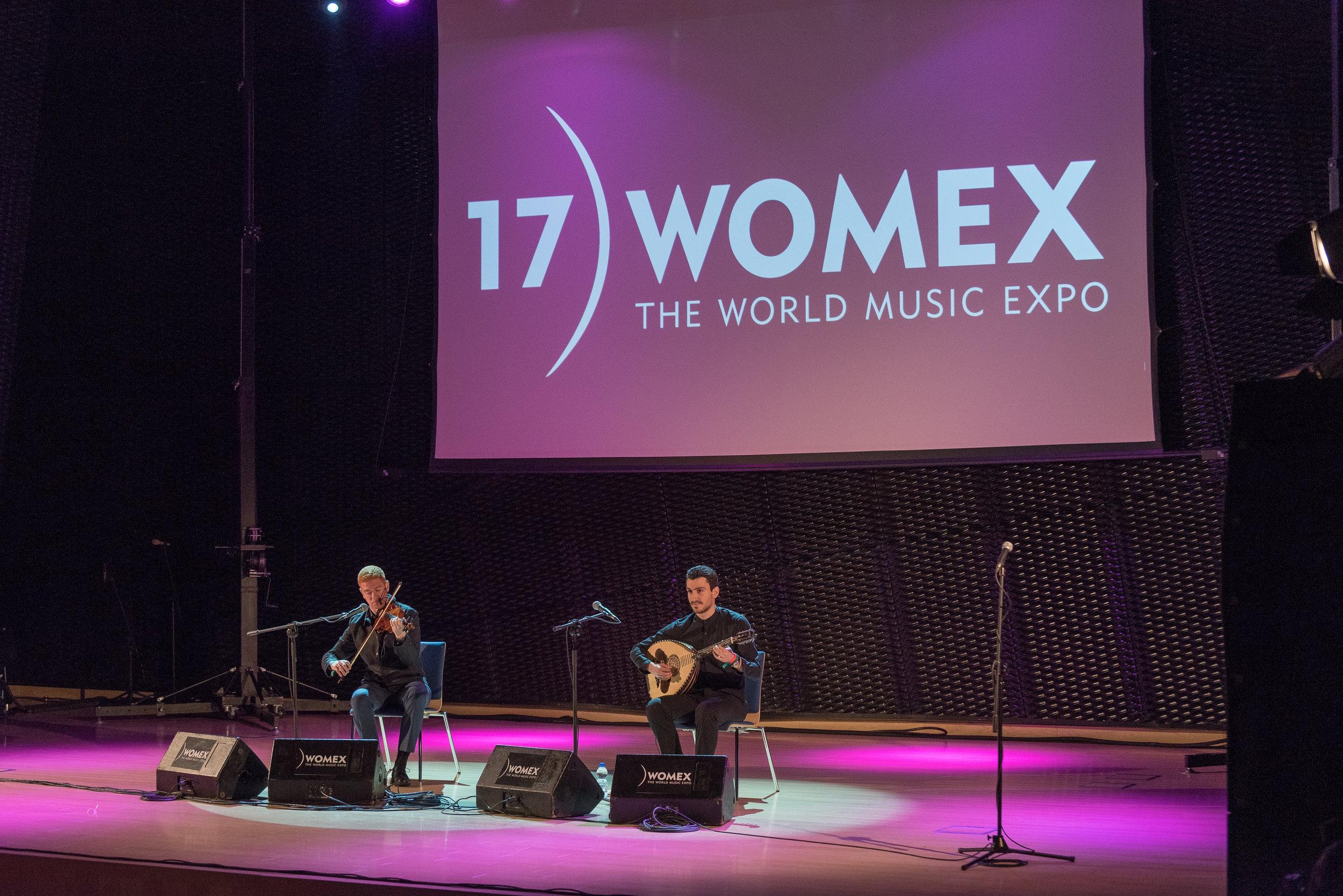 Womex 2017 Katowice, Poland-Vasilis Kostas & Layth Sidiq Duo.jpg
