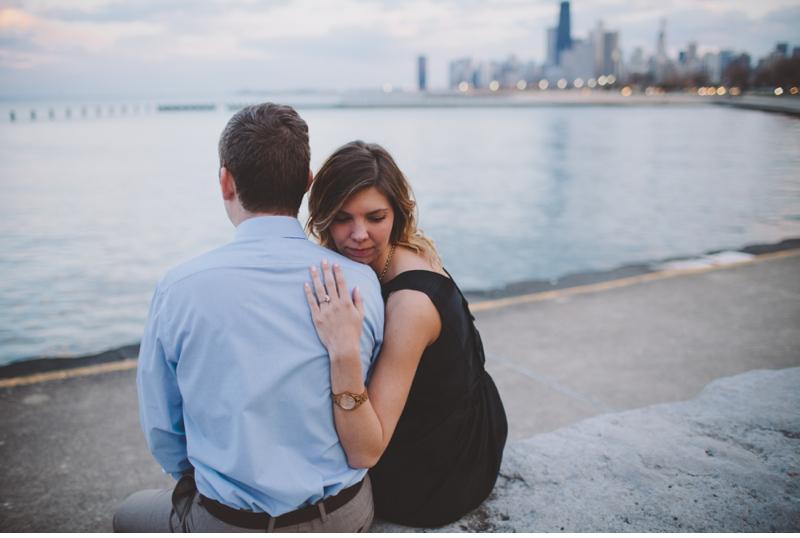 engagement photos chicago