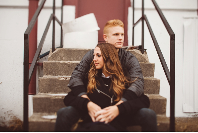 industrial couple engagement