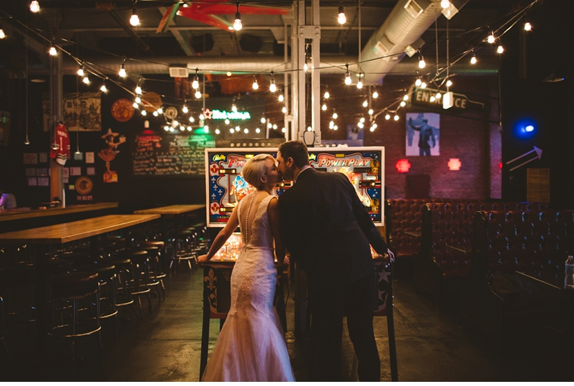 pinball wedding