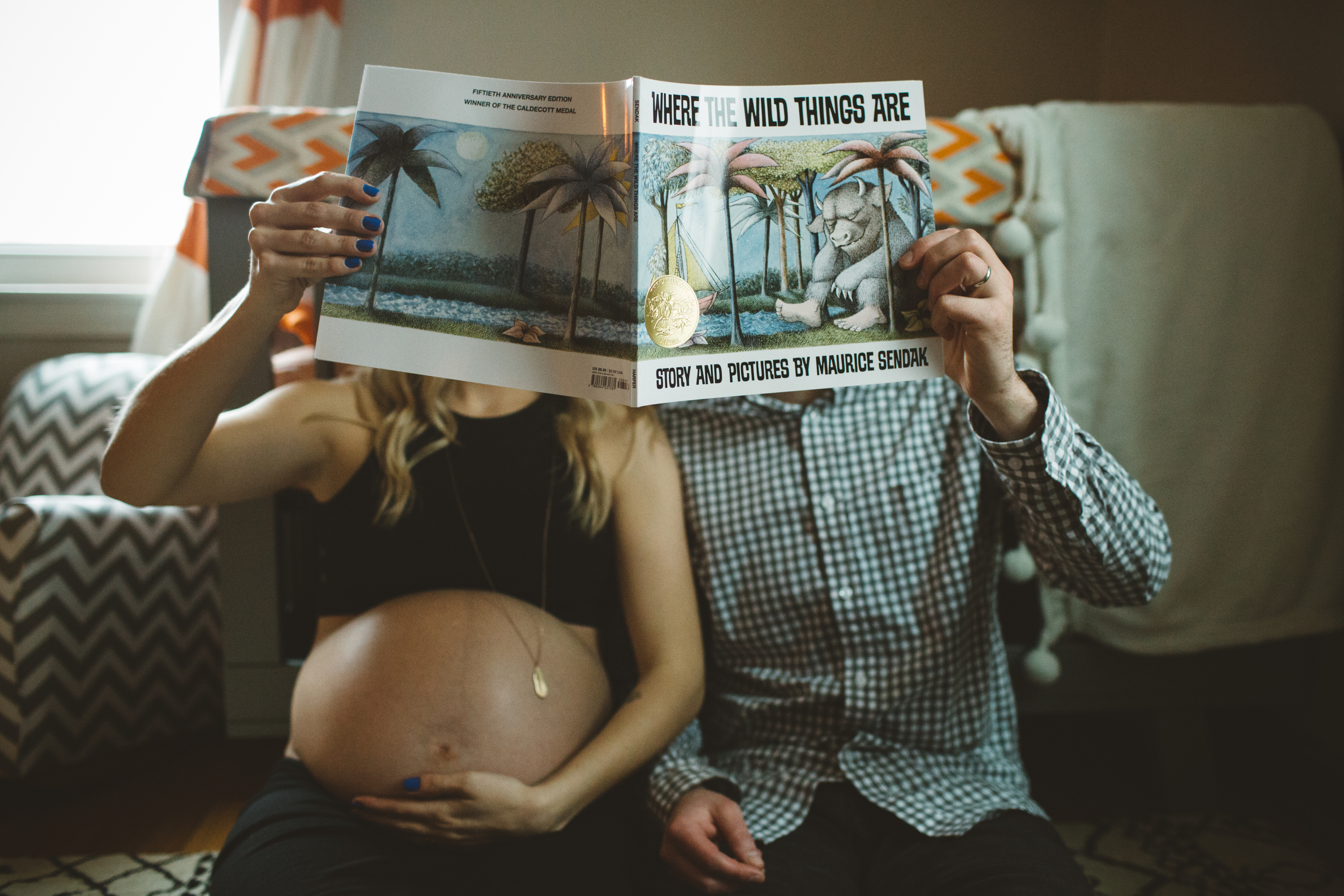 book theme maternity