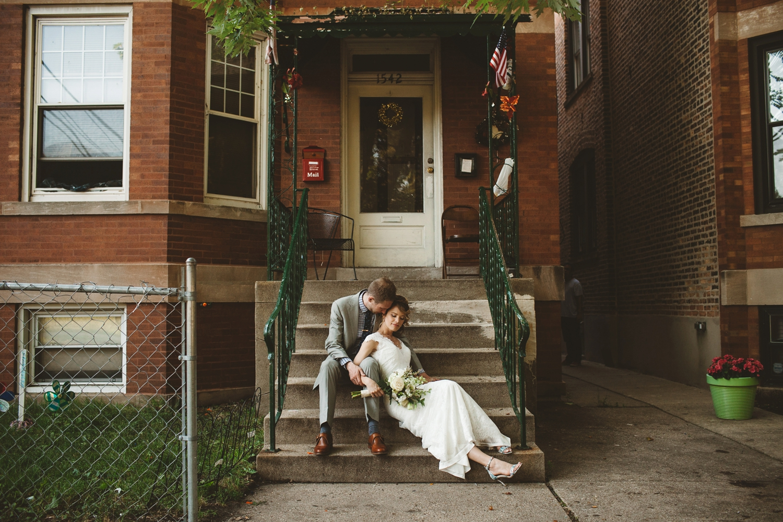 chicago home wedding