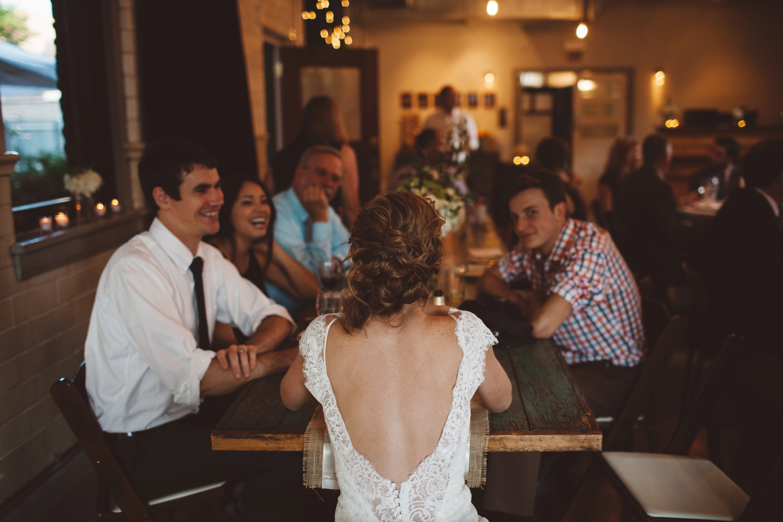 bride reception