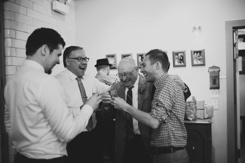 groom shots