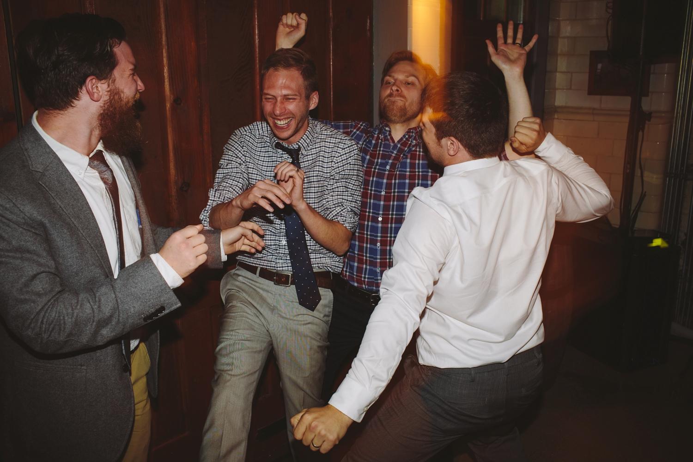 groom reception dancing