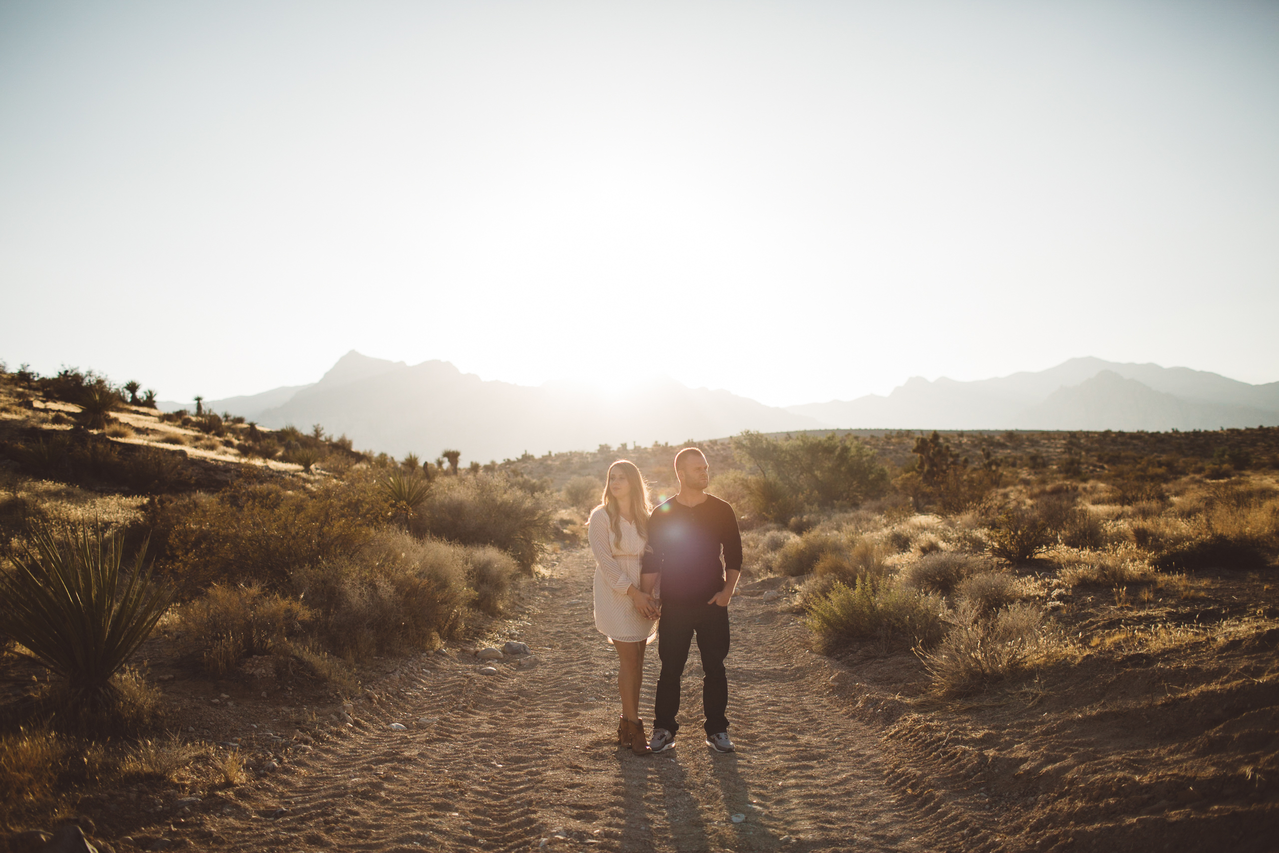 red rock canyon engagement
