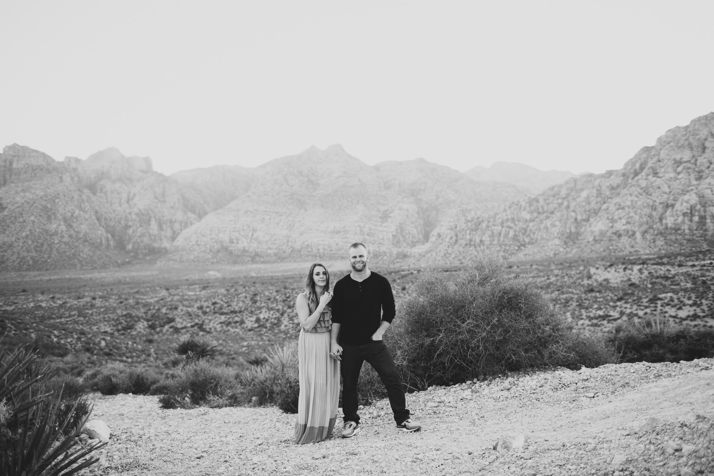 las vegas desert engagement