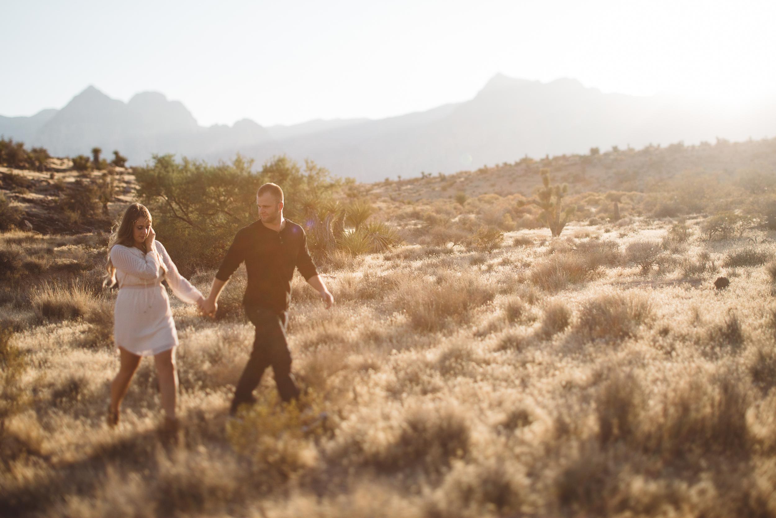 desert sunset wedding photographer