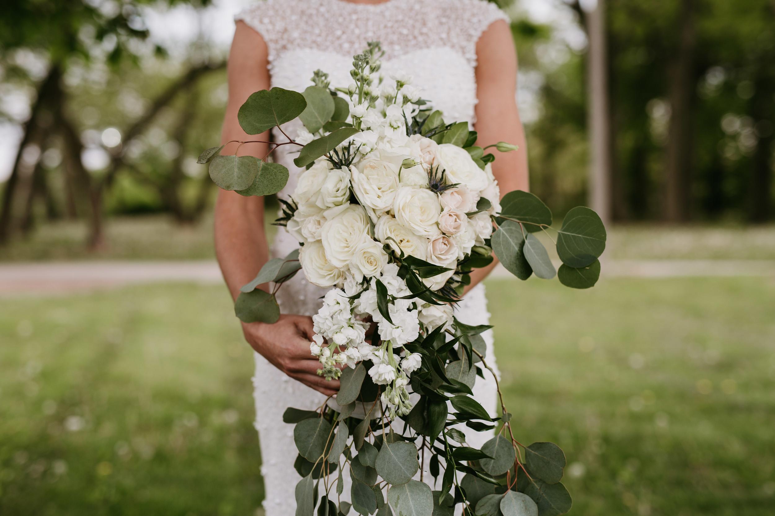 whimsical bride bouquet
