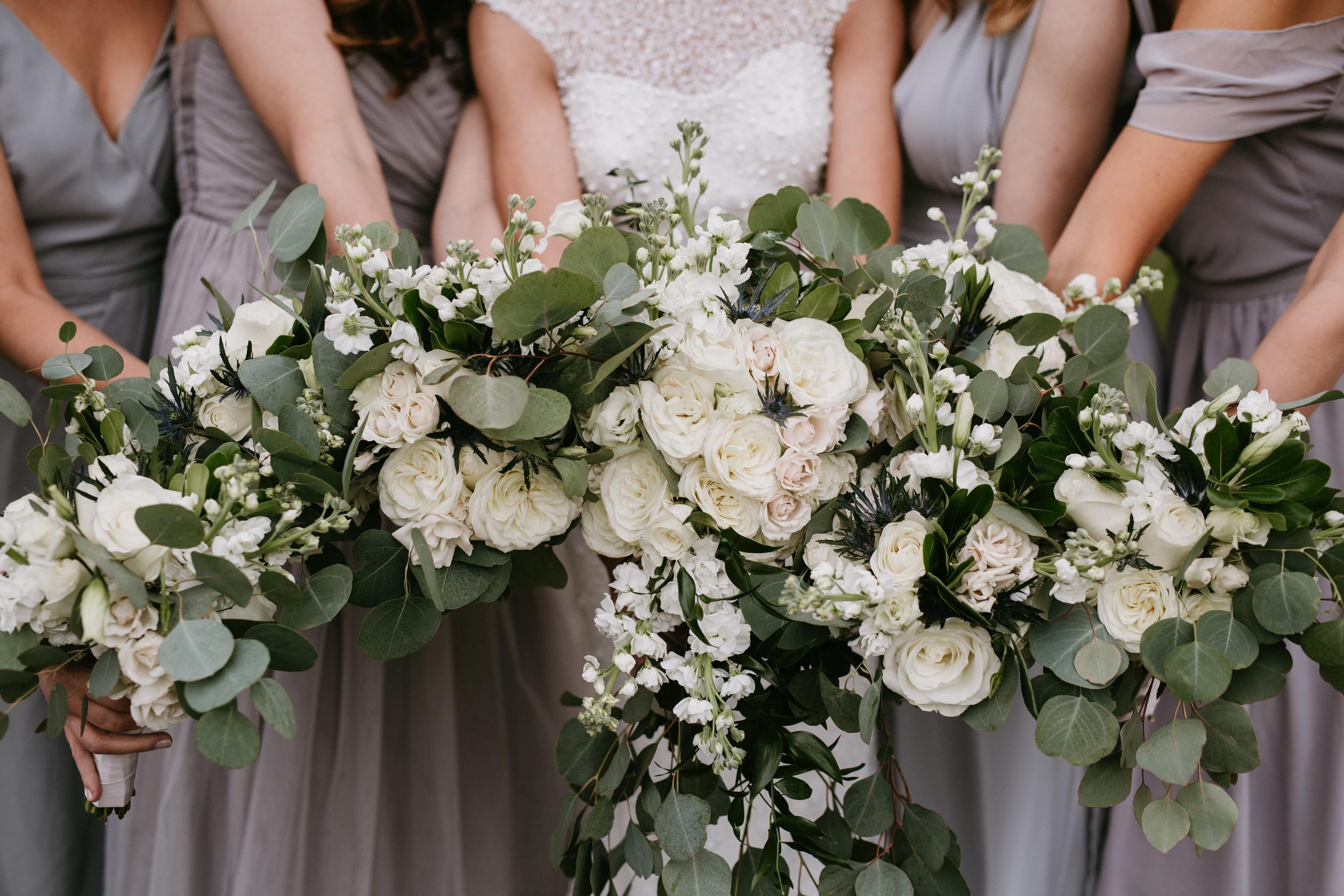 greenery wedding bouquet
