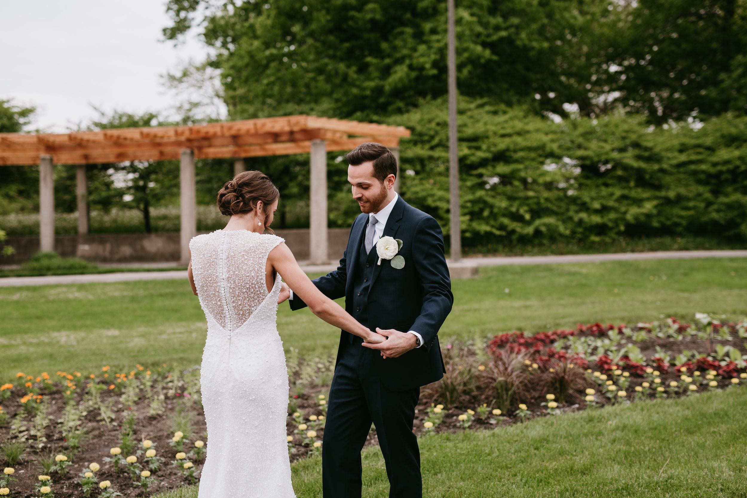 humboldt park flower garden wedding