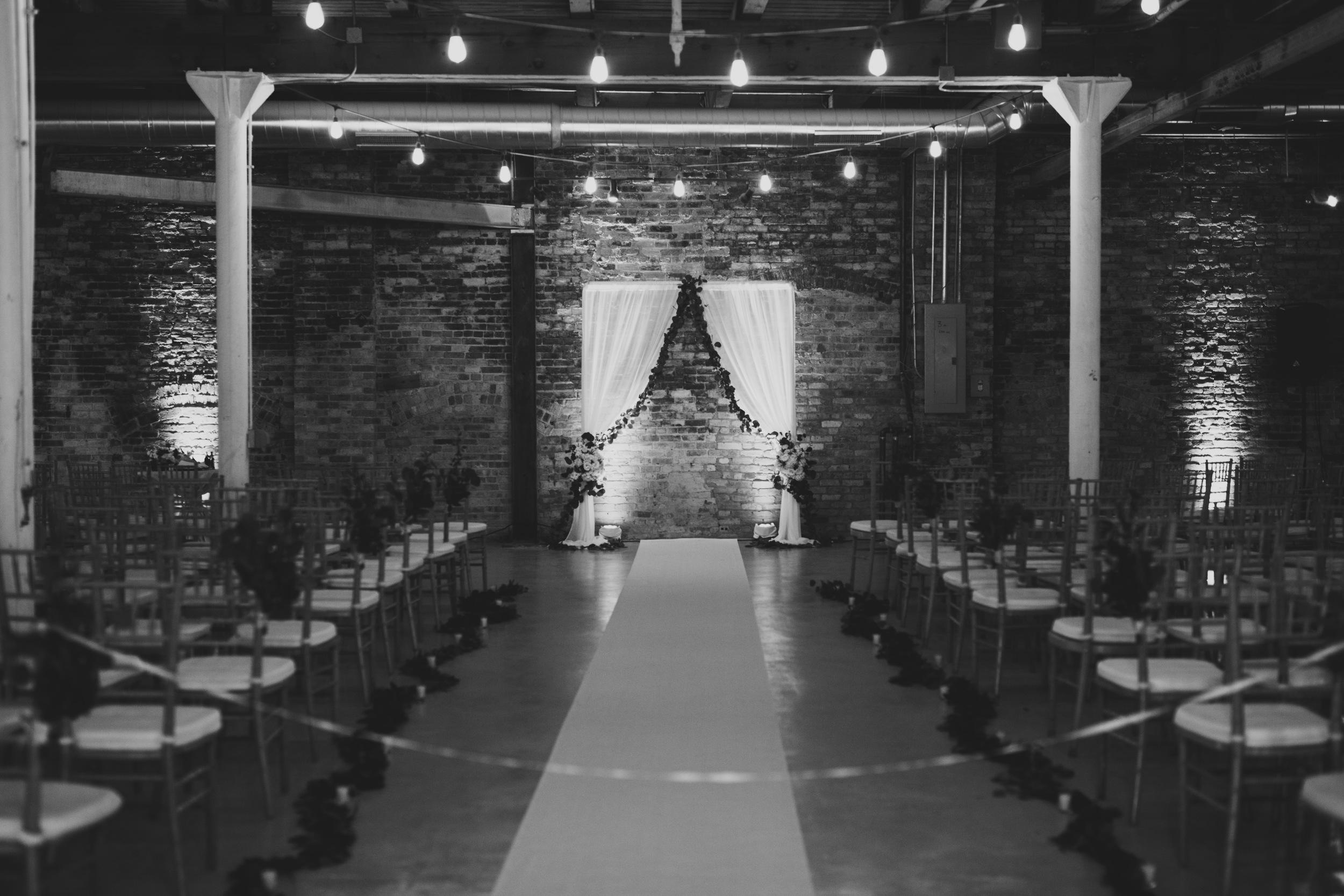 kenmare loft wedding ceremony