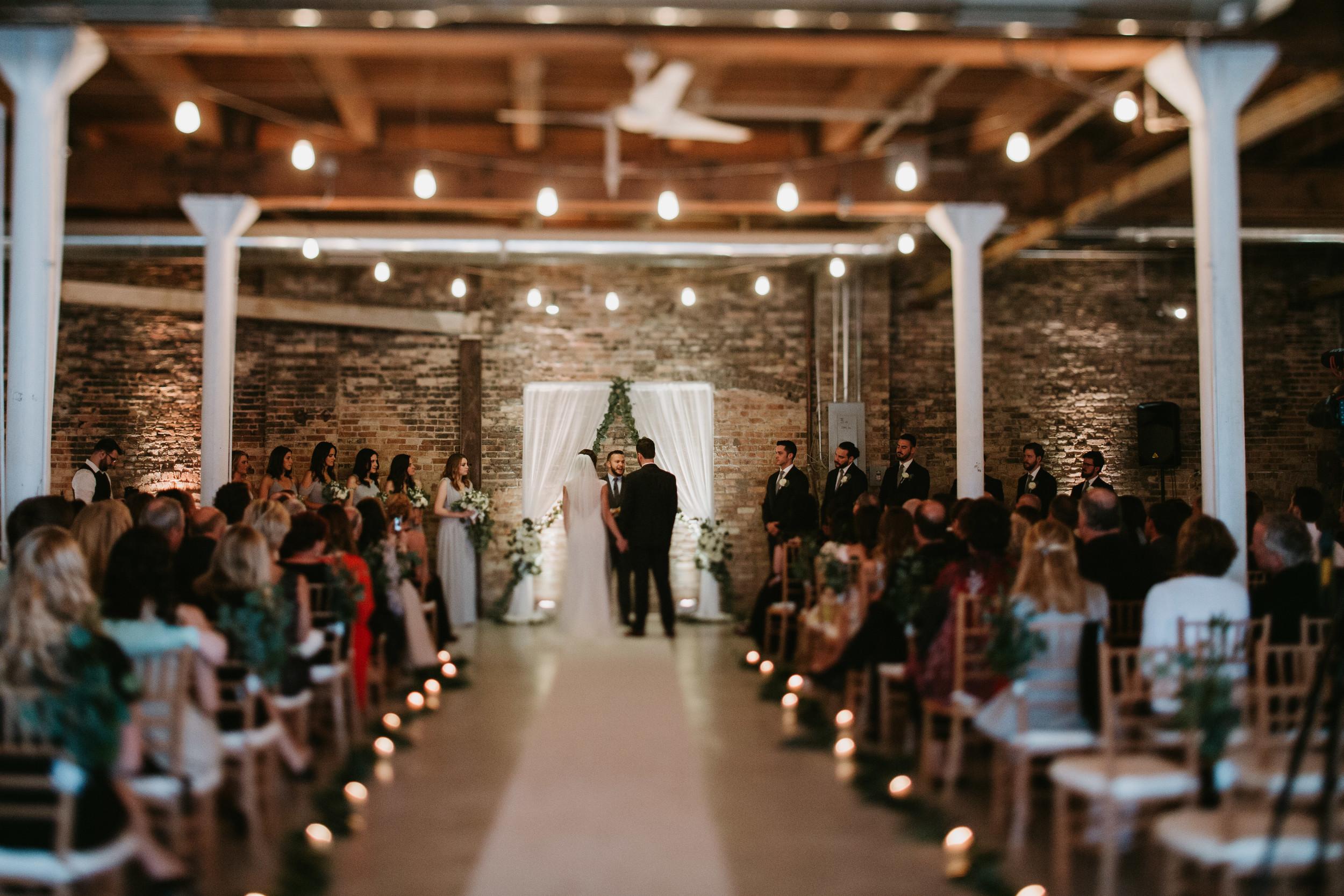 chicago kenmare loft wedding