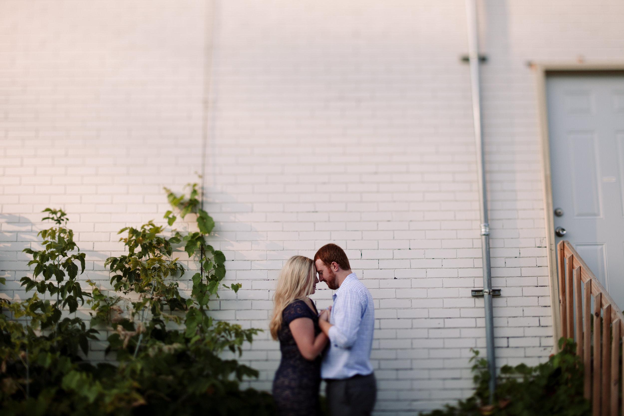 industrial downtown wedding