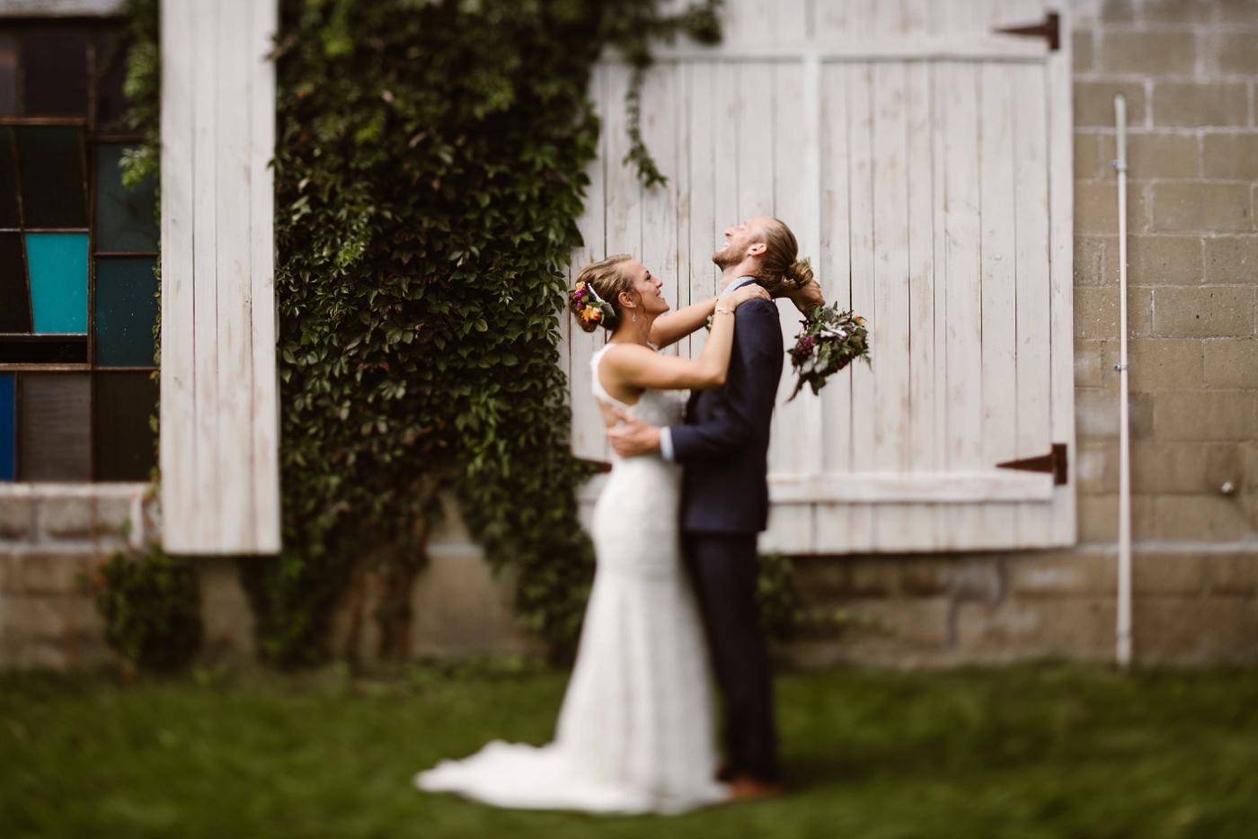 unique western michigan wedding photographer