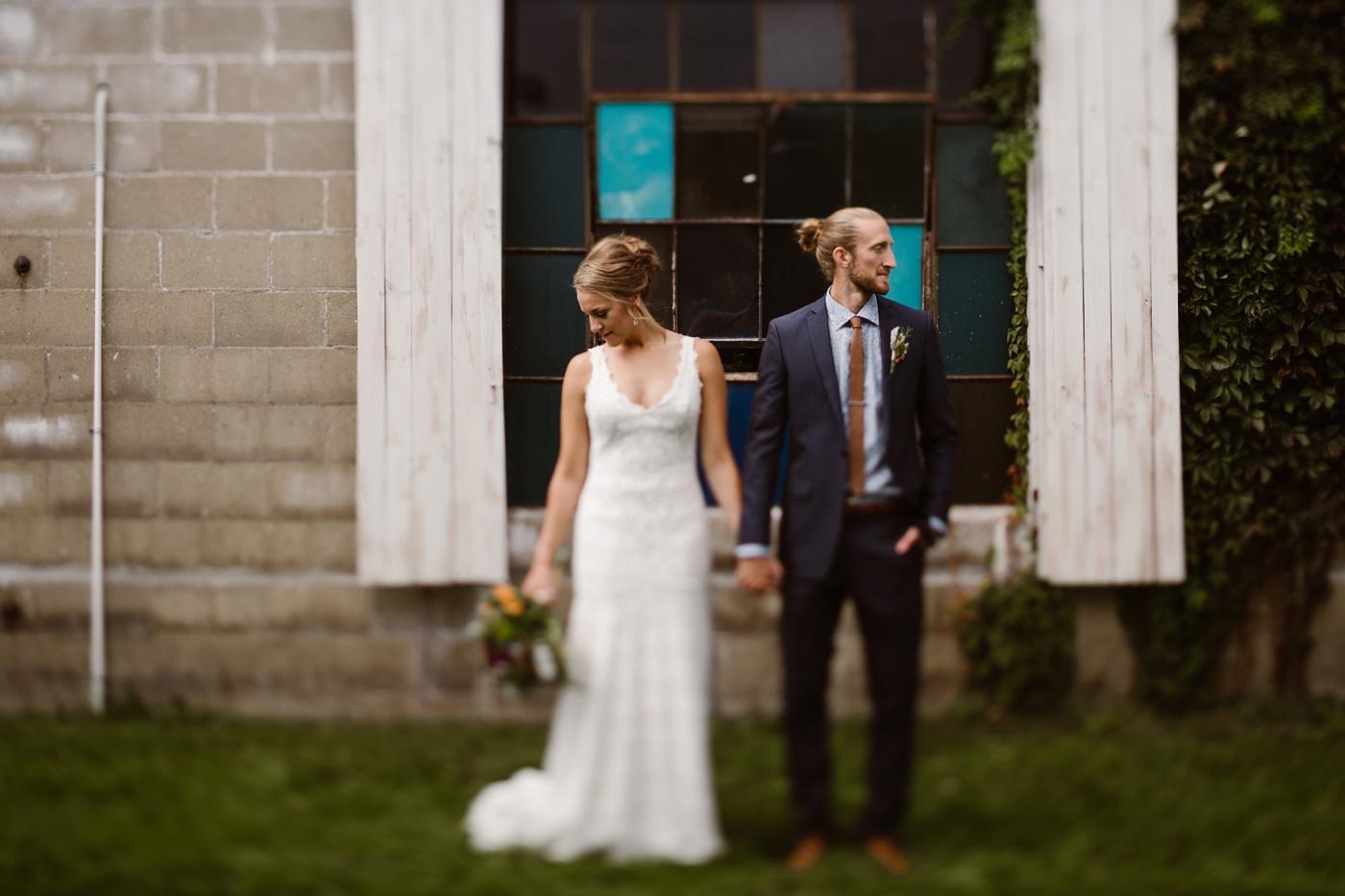 gothic michigan wedding photographer