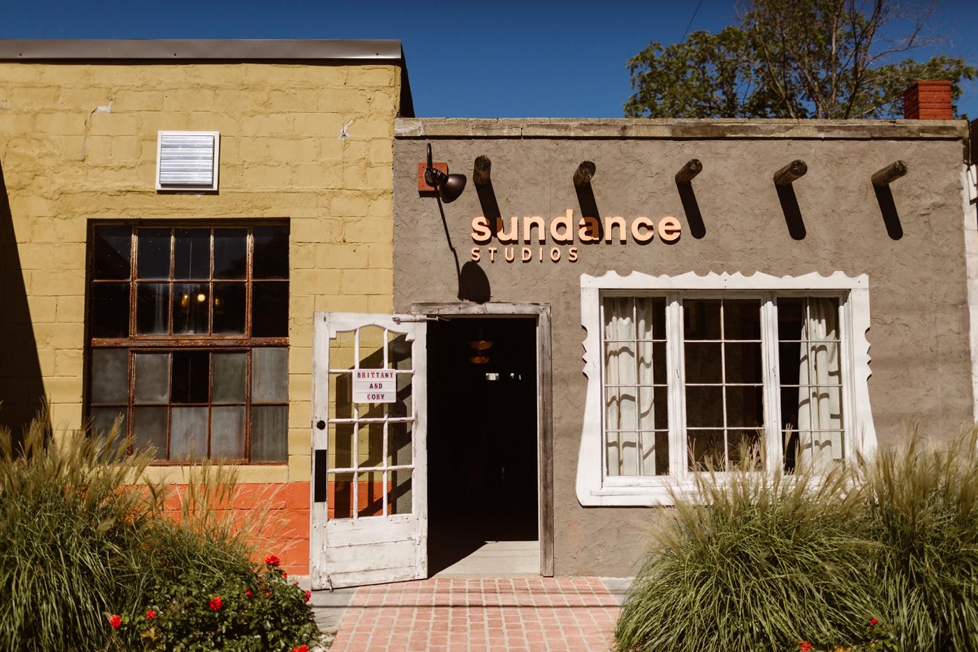 sundance studios vintage wedding venue