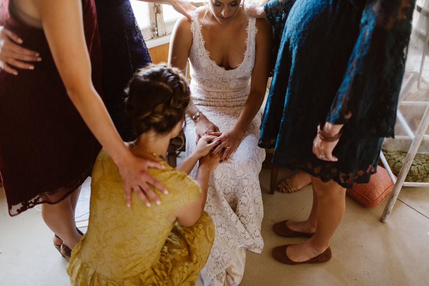 prayers for bride with bridesmaids