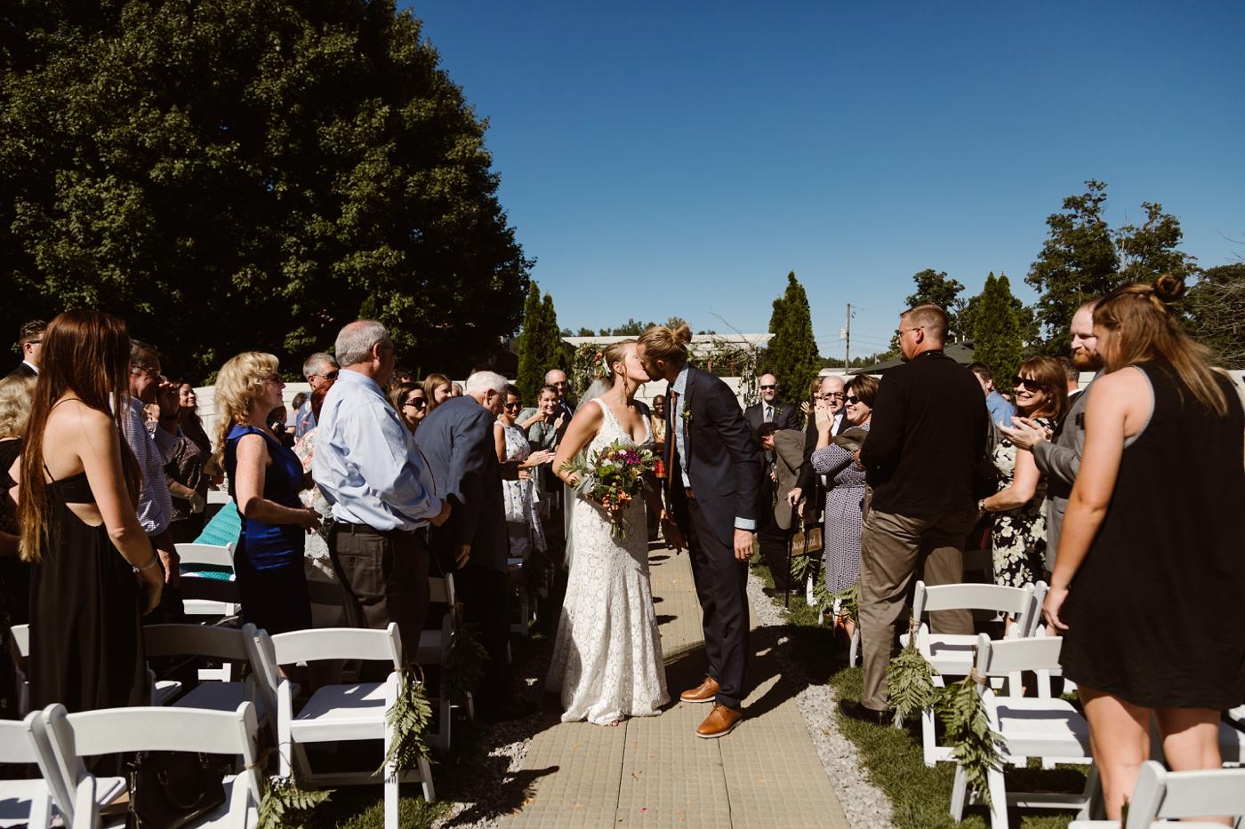 intimate wedding ceremony sundance studios
