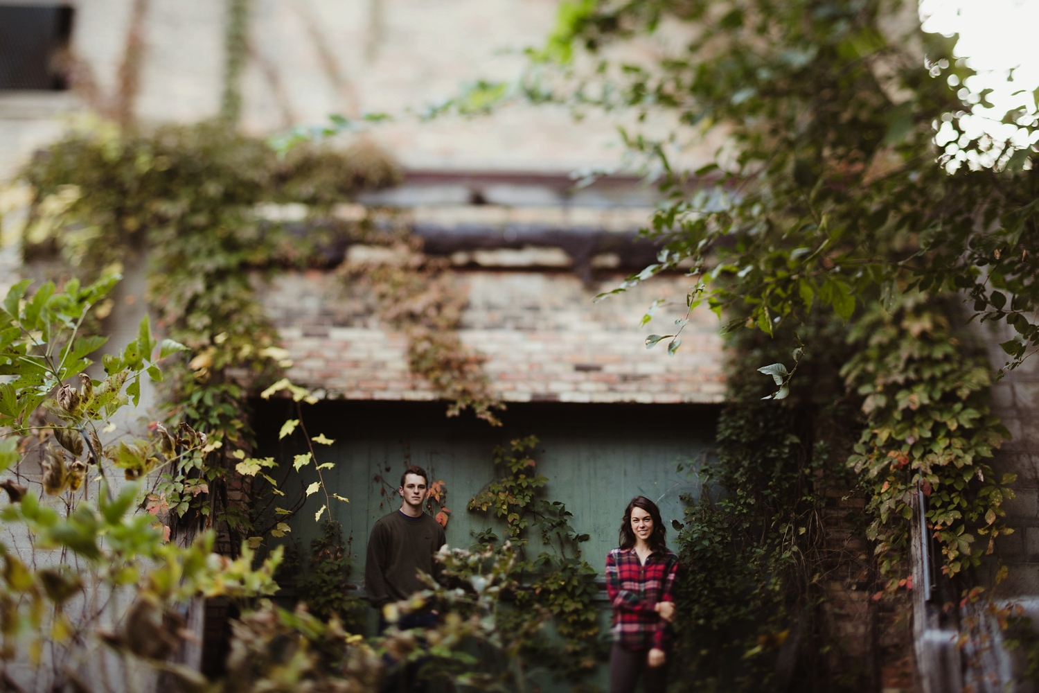 northern michigan forrest engagement session