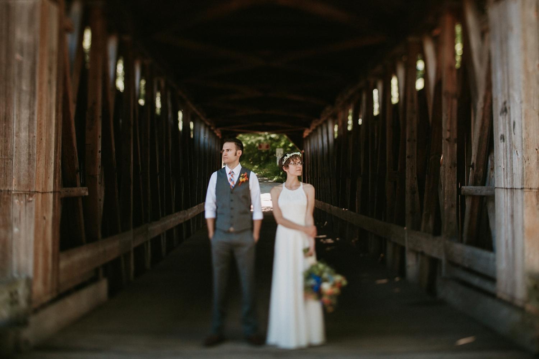 lowell michigan outdoor park wedding