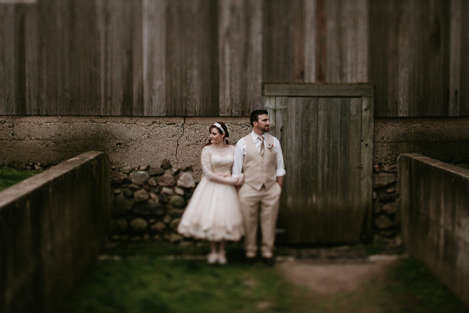 farm wedding in the midwest