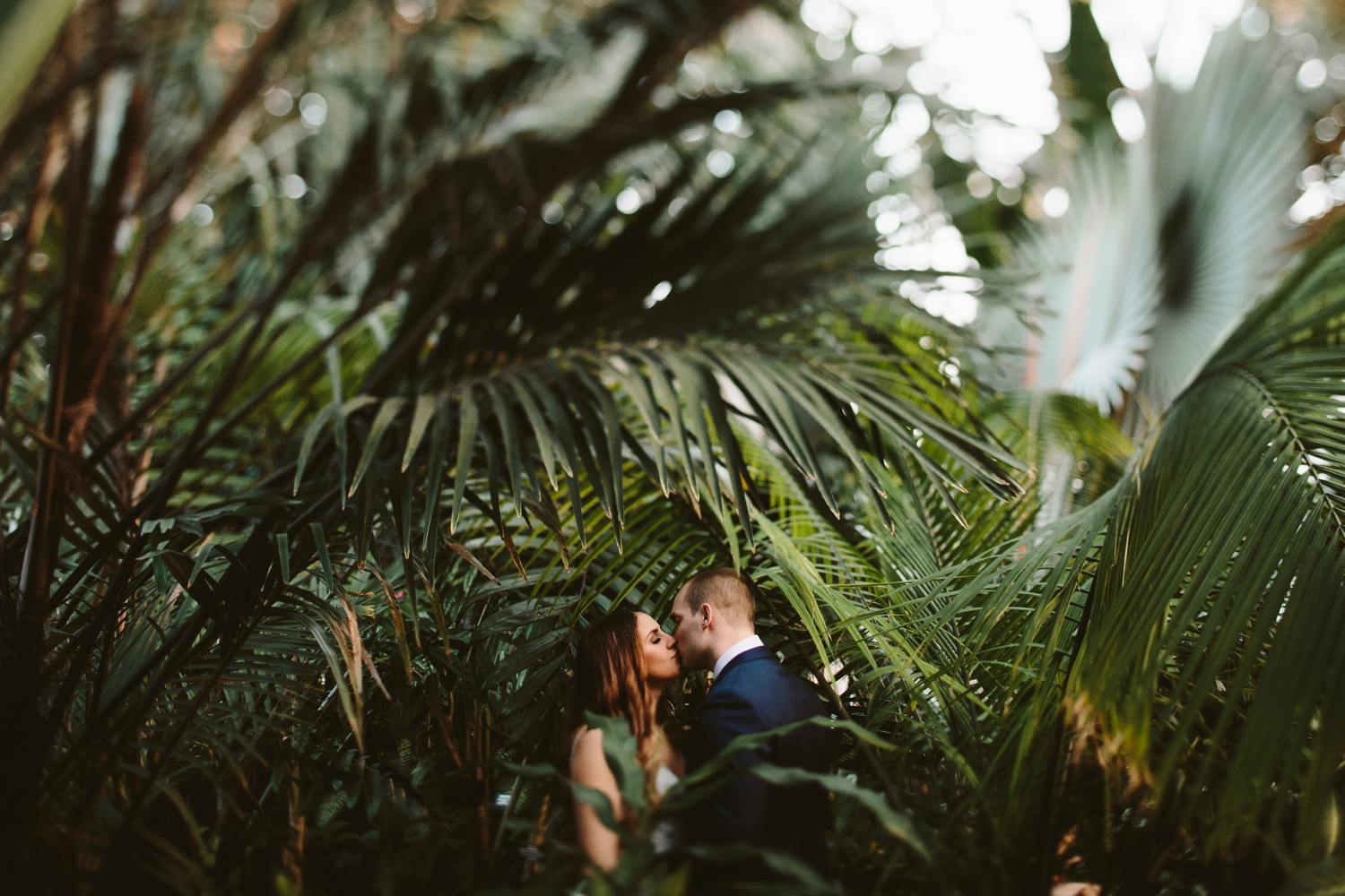 belle isle detroit michigan conservatory elopement