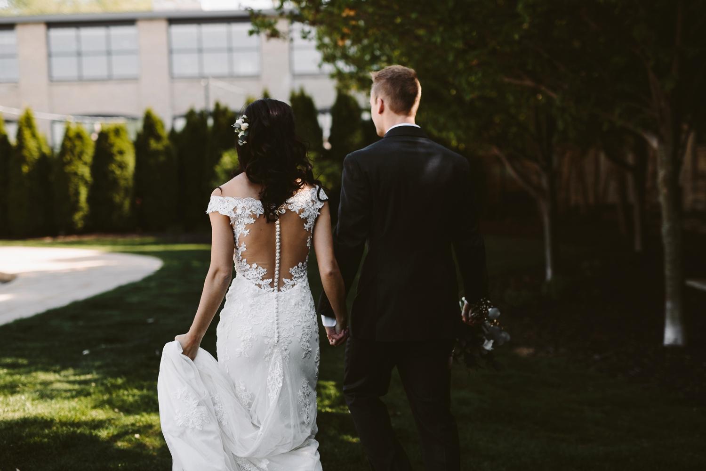grand rapids michigan loft wedding