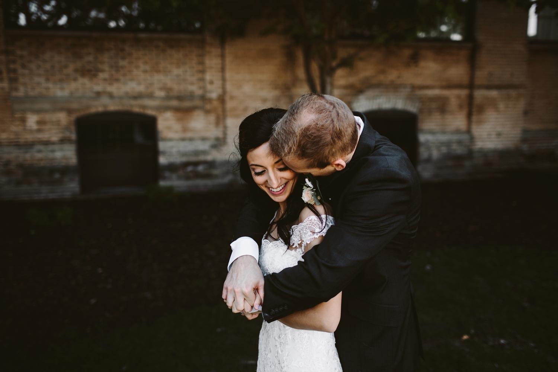 holland michigan baker loft wedding ceremony