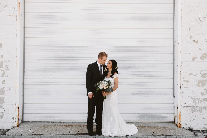 baker loft industrial wedding venue