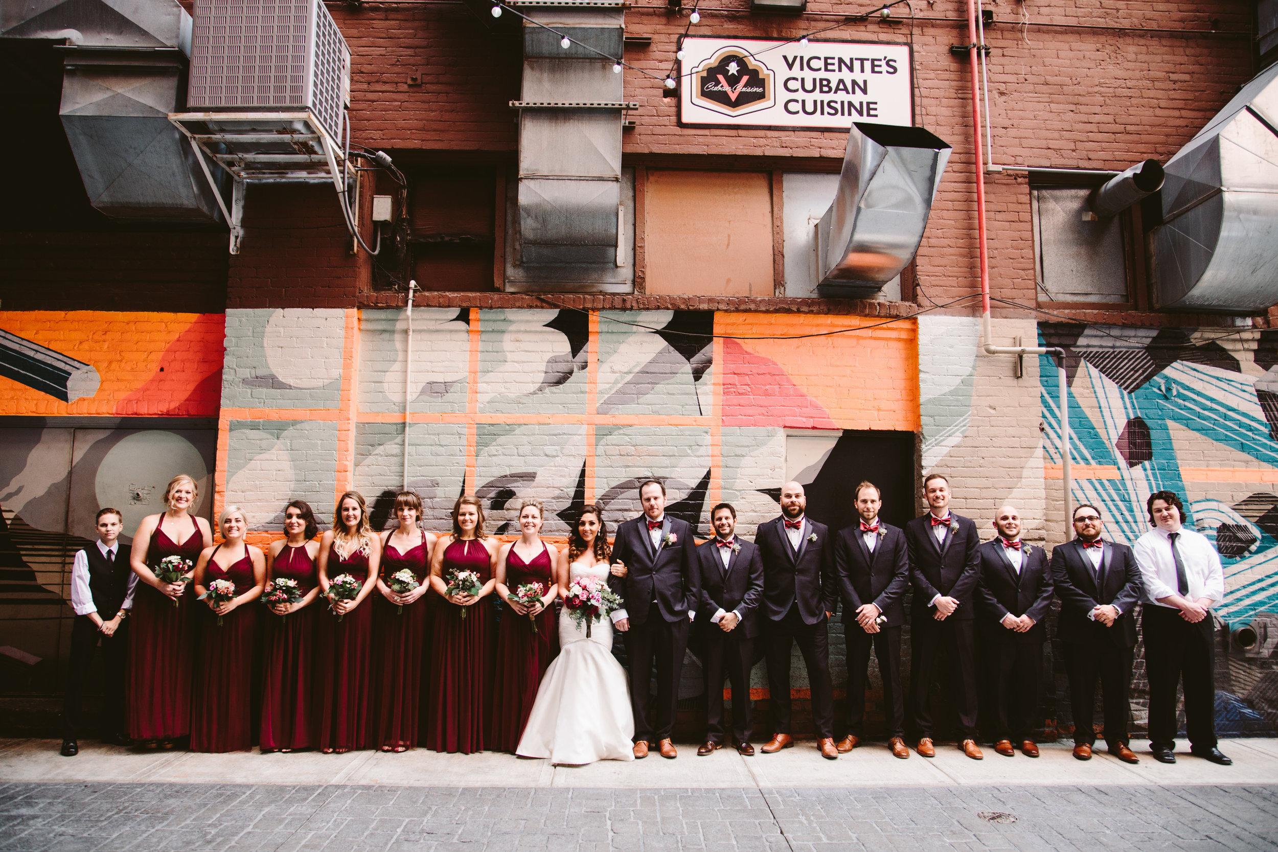 detroit eastern market bridal party