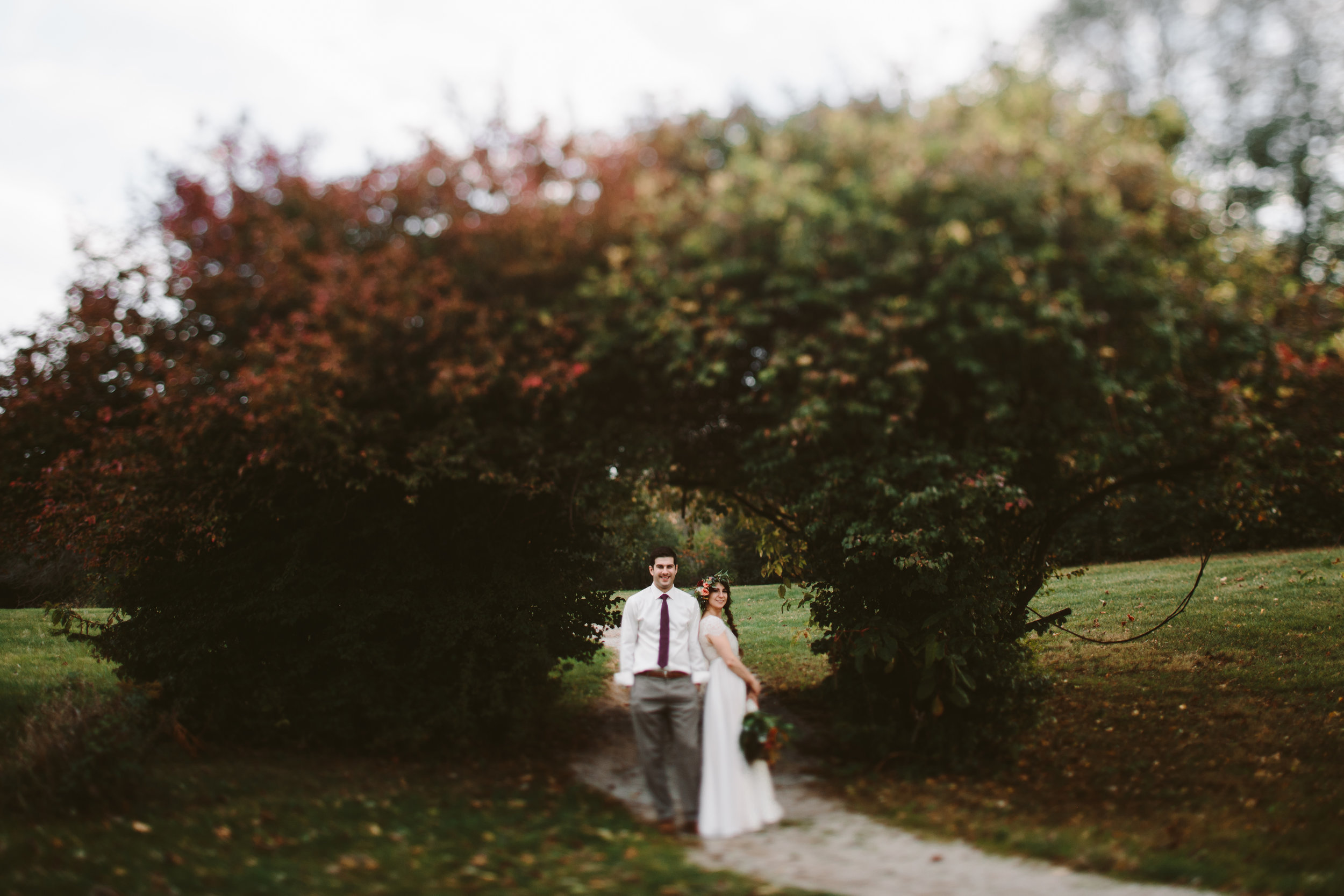 michigan national forest wedding
