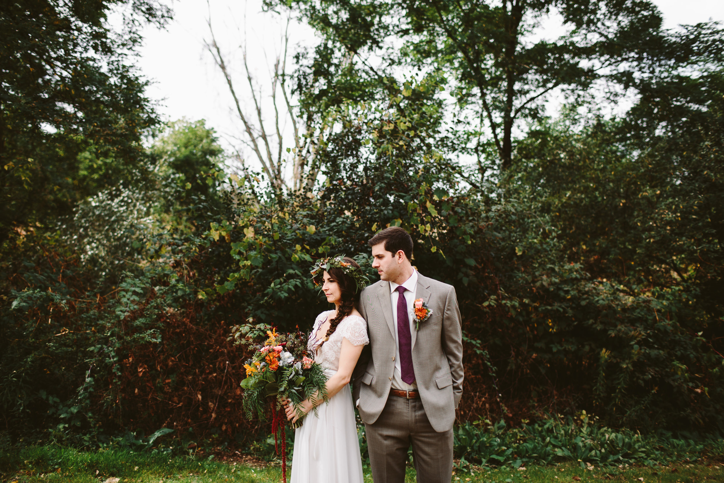 kalamazoo nature center outdoor wedding