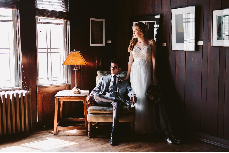 Detroit Michigan Scarab Club Wedding Photographer