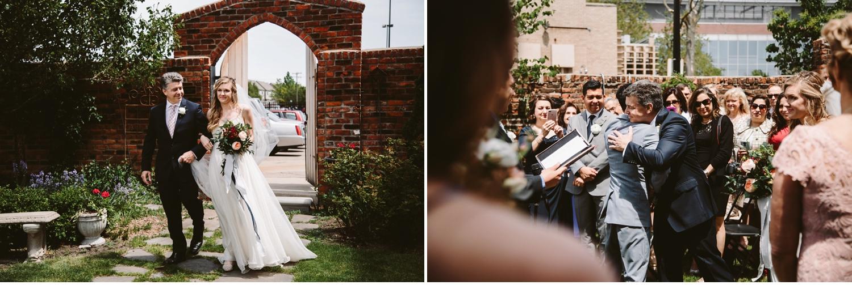 northern michigan backyard wedding
