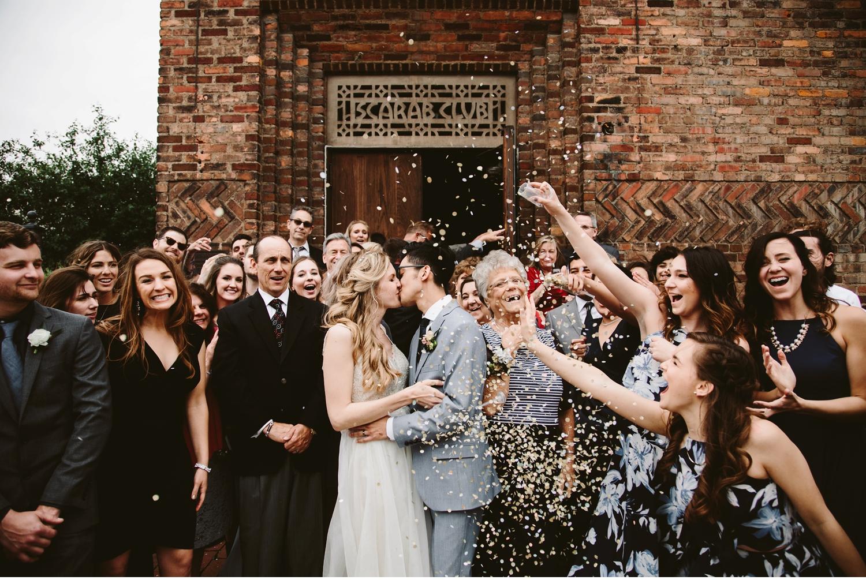 detroit the eastern wedding send off