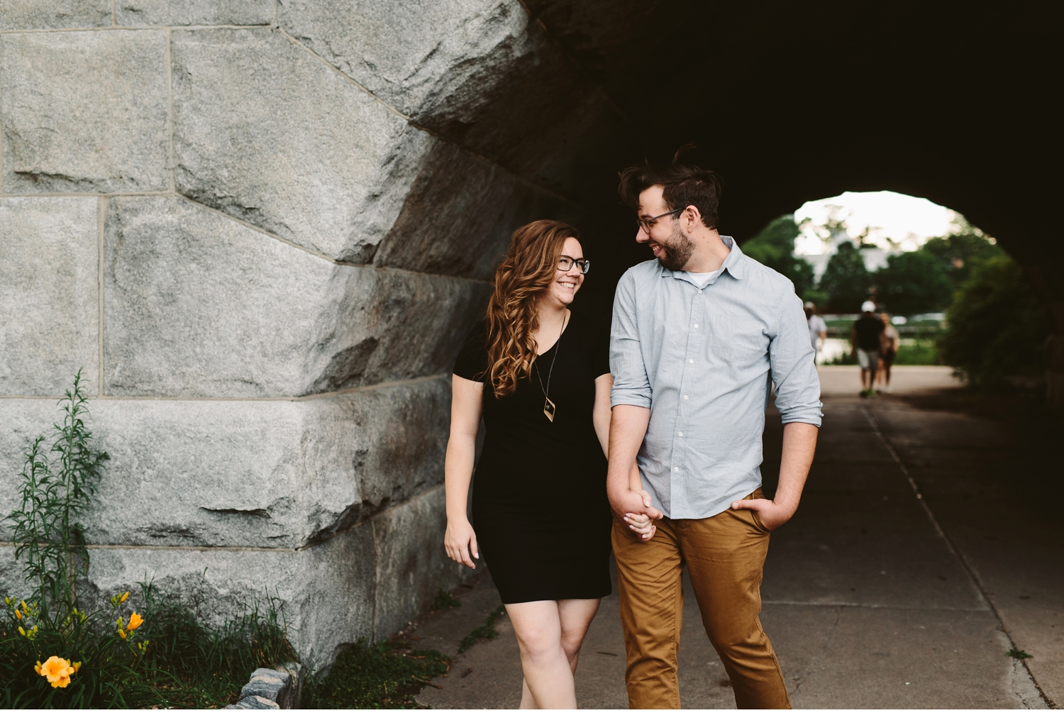 chicago lincoln park zoo engagement shoot