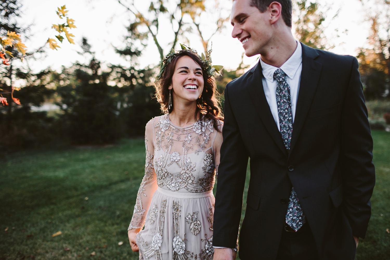 northern michgian elopement portraits