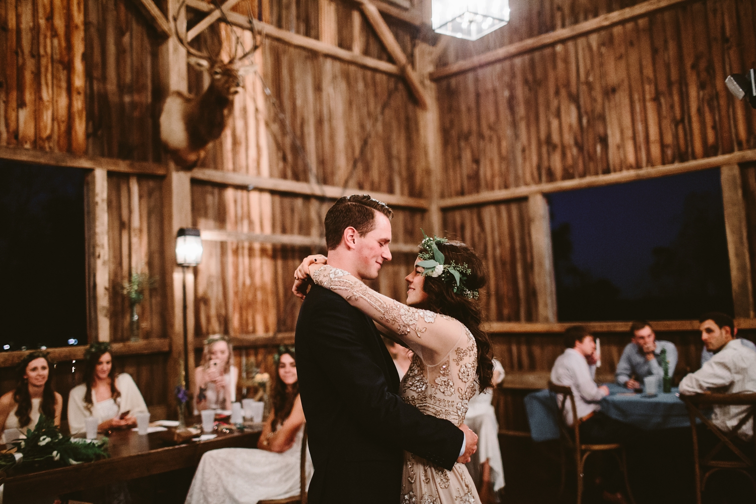 first dance at farm at dover barn venue