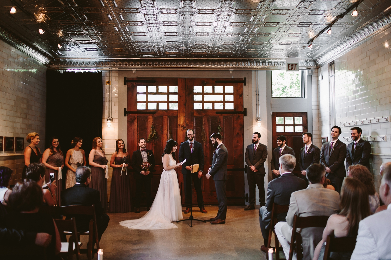 firehouse chicago wedding vows