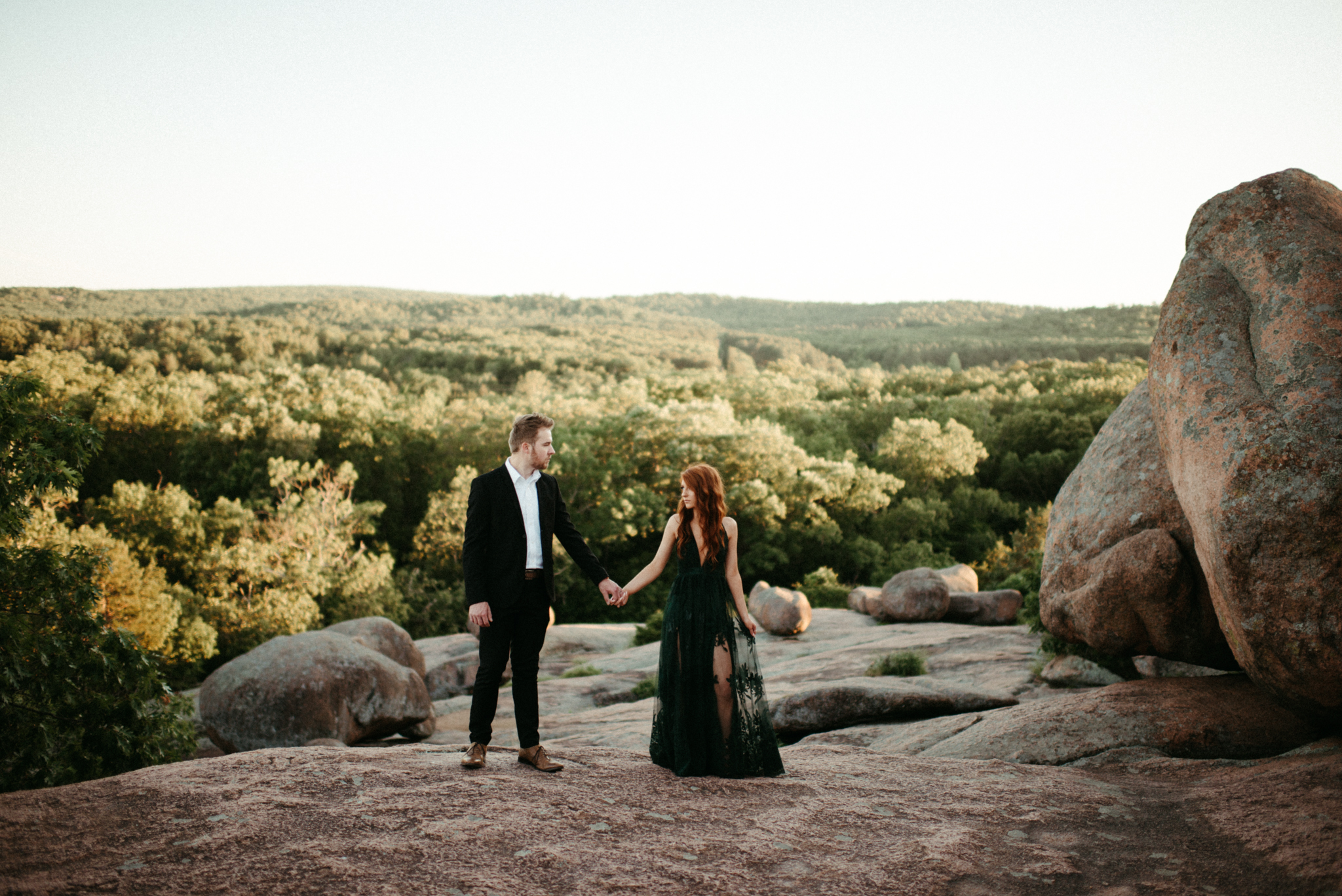 Zach and Rosalie - Missouri Wedding Photographer - Elephant rocks state park anniversary session -7031.jpg